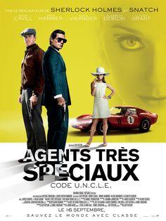 Agents très spéciaux - Code U.N.C.L.E est un film de Guy Ritchie avec Henry Cavill, Armie Hammer. Synopsis : Au début des années 60, en pleine guerre froide, Agents très spéciaux - Code U.N.C.L.E. retrace l'histoire de l'agent de la CIA Solo et de l'agent du