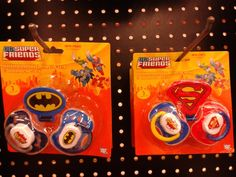 Batman baby pacifiers and clip :)