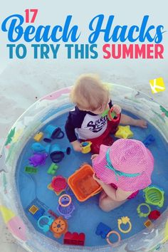 If you're headed for a family beach trip or vacation this summer- you need to know these beach hacks! Save some stress and frustration so that you enjoy your beach getaway. If you're asking how to keep babies and toddlers busy at the beach, how to soothe sunburn, how to do the fitted sheet beach hack, or even how to stay cool on the beach, The Krazy Coupon Lady has you covered with these easy and effective beach hacks and tips! Aloe Vera, Beach Hacks, Beach Ideas, Packing List Beach, Do It Yourself Organization, Mini Pool, Kiddie Pool, Beach Toys, Camping Hacks