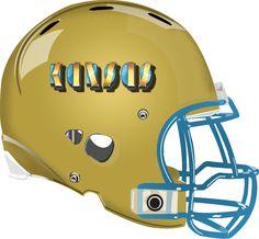 Kansas Helmet from a Fantasy Football League