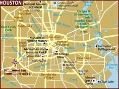 awesome Houston Map Tourist Attractions