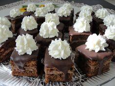 Csokoládékocka – különleges sütemény, omlós tészta és mennyei krém, csodás íze van!