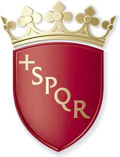 """Résultat de recherche d'images pour """"illustration roma spqr"""" Canadian Coat Of Arms, American Symbols, Family Crest, Crests, Old World, Regine, Illustration, Poster, Blog"""