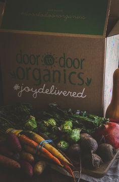 Door to Door Organics winter produce box, my @dtdorganics delivery #joydelivered
