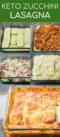 This easy zucchini lasagna is a great low carb and healthy alternative to your t. - This easy zucchini lasagna is a great low carb and healthy alternative to your t. This easy zucchini lasagna is a great low carb and healthy alterna. Comidas Fitness, Comida Keto, Think Food, Diet Meal Plans, Healthy Alternatives, Meal Planning, Healthy Zucchini Recipes, Healthy Low Carb Meals, Zucchini Dinner Recipes