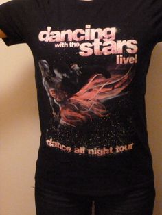 Dancing With the Stars (DWTS) Live! Dance All Night Tour T-Shirt (Small)
