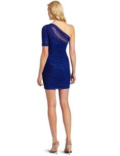 BCBGMAXAZRIA Women's Bojana Asymetrical Sleeved Sequin Cocktail Dress in Royal Blue Sequin Cocktail Dress, Bcbgmaxazria Dresses, Royal Blue, Sequins, Formal Dresses, Casual, Sleeves, Fashion, Dresses For Formal