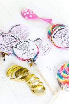 Einladung    Was für eine schöne Idee für eine Einladung zum Kindergeburtstag! Vielen Dank dafür!  Dein balloonas.com    #balloonas #kindergeburtstag #motto #mottoparty #party #kids #birthday #invitation #einladung