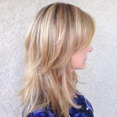70 Darn Cool Medium Length Hairstyles for Thin Hair   Pinterest ...