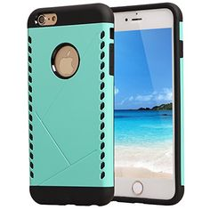 iPhone 6 Plus Case, AUMI Hybrid Dual Layer Shock Absorbin Armor Defender Case Protective Cover for iPhone 6 5.5 Inch (Green) AUMI http://www.amazon.com/dp/B0136QZQB2/ref=cm_sw_r_pi_dp_q1i1vb1GFKTQH
