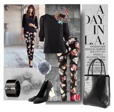 """My new pants :)"" by lacas ❤ liked on Polyvore featuring H&M, Warehouse, Reed Krakoff, DANNIJO, reed krakoff, h & m and dannijo"