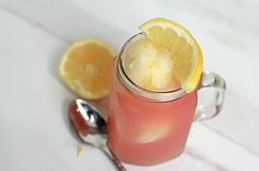 Grandbaby Cakes: Pink Lemonade Floats