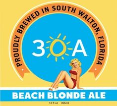 Beach Blonde Ale. The picture says it all.