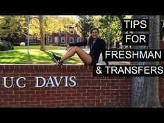 TIPS FOR UC DAVIS INCOMING FRESHMAN & TRANSFERS - YouTube