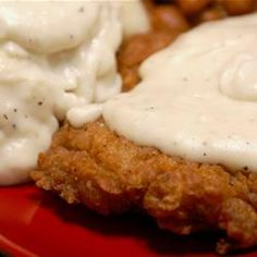 The Best Chicken Fried Steak --- I actually submitted this recipe to Allrecipes.com. It's the highest rated CFS recipe on the site. Yep...it's that f'n good.