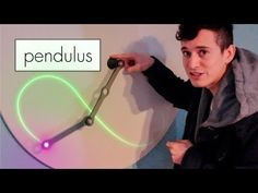 This Light Painting, Double Pendulum Elegantly Demonstrates Chaotic Movement «TwistedSifter Science Toys, Science And Technology, Double Pendulum, How To Make Toys, Weekend Projects, Light Painting, Cool Kids, Kids Fun, Diy Toys
