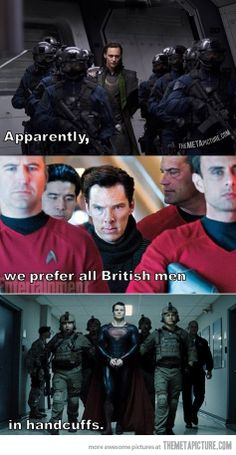 Handcuff them all… The Doctor needs to be added to this list, then it would be perfect.
