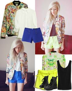 """""""Retro Style Floral Print Shirt"""" by romwe on Polyvore"""