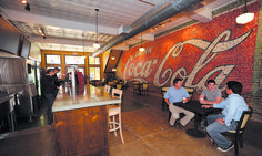Standpipe Coffee House  great food and drinks cool building in downtown Lufkin
