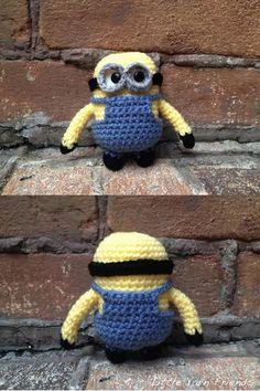 Crochet Pattern: Lil' Minion (Despicable Me)