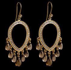 Love these earrings by Julie Sandlau