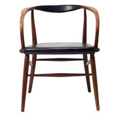 Mid-Century Danish Desk or Side Armchair | From a unique collection of antique…