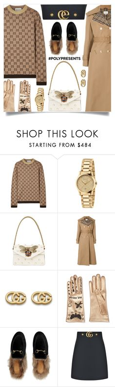"""#PolyPresents: Wish List"" by samra-bv ❤ liked on Polyvore featuring Gucci, gucci, contestentry, polyPresents and guccilover"