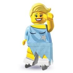 LEGO Minifigures - Ice Skater