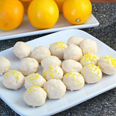 Cream Cheese Meltaways | Alida's Kitchen.  These look so good!  Anything with cream cheese.