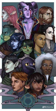 Critical Role Characters, Critical Role Fan Art, Dnd Characters, Fantasy Characters, Critical Role Comic, Character Concept, Character Art, Character Design, Character Sheet