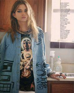 "Elle Italia February 2014, ""Teen Jeans"""