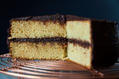 Vanilla butter cake with chocolate icing - Tonic & Soul Chocolate Icing, Celebration Cakes, Allrecipes, Vanilla Cake, Special Occasion, Butter, Desserts, Food, Chocolate Frosting