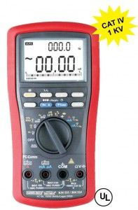 KM 525- AC + DC TRUE RMS MOBILE LOGGER DIGITAL MULTIMETER • 87000 Stand-alone Data-Logging function (Points at single display mode) • 43000 Stand-alone Data-Logging function (points at Dual Display mode) • Multiple Data Recording. • 4 Digit 10,000 counts large easy to read LCD display • Fast measurements, 5 /sec; Fully Auto-ranging • Dual Digital display • 41 segment Analog Bar-graph updates 60/sec • 0.08% high Basic DCV accuracy • Optional purchase USB cable & software for Win98/2k/xp/Vista