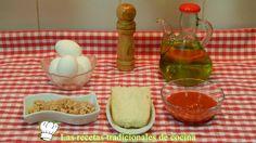 Receta de huevos revueltos con atún y tomate frito - Recetas de cocina con sabor tradicional