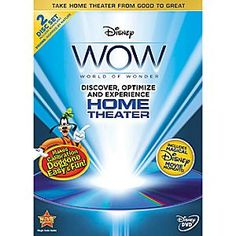 Disney World of Wonder Optimization - 2-Disc DVD | Disney StoreWorld of Wonder Optimization - 2-Disc DVD - Calibrate and optimize your home theater with help from Goofy with Disney's World of Wonder, the definitive how-to guide for perfect picture!