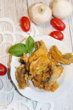 Chrupiąca pieczarkowa przekąska – idealna na przyjęcie Nasu, Risotto, Appetizers, Snacks, Meat, Chicken, Ethnic Recipes, Food, Party