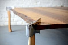 Great idea for a table #furniture