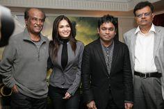 Kochadaiyaan: Rajinikanth and AR Rahman in London