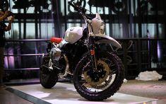 Download wallpapers 4k, BMW R nineT Urban GS, superbikes, 2017 bikes, new Urban GS, german motorcycles, BMW