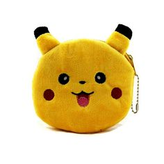 Cartoon Pokemon Go Pikachu Plush Coin Purse Children Zipper Change Cute Pokemon ball Purse Wallet Pouch Bag For Kids Gift