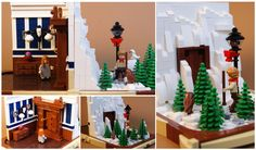 https://flic.kr/p/BshFgw   Lego Chronicles of Narnia - The Wardrobe   I've been meaning to build this little scene for a while, so here it is.