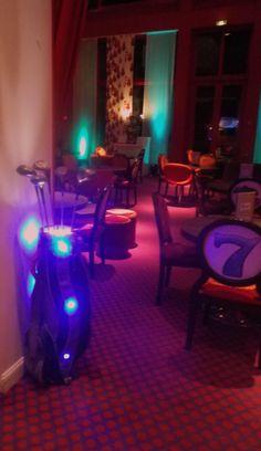 lampe golf en expo au casino de cabourg