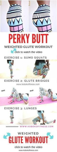 You really get amazing results from this weighted glute workout. bigger butt, he. You really get amazing results from this weighted glute workout. bigger butt, he… You really get amazing results from this weighted glute workout. bigger butt, here i come Fitness Workouts, Fitness Herausforderungen, At Home Workouts, Health Fitness, Butt Workouts, Workout Exercises, Health Diet, Treadmill Workouts, Tabata