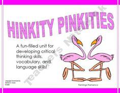 its-about-time-teachers shop HINKITY PINKITIES are riddles with rhyming answers that help students learn to interpret data, make inferences, draw conclusions, and analyze new information. All the while, they are working with vocabulary, synonyms, syllables, definitions, parts of speech, and rimes. What could be better than having fun while working with Bloom's Taxonomy?