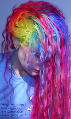 Man, I wish I could dye my hair like this...