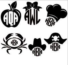 cute monograms