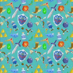 legend of zelda pattern (tumblr)