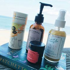 Thanks @pemberleyjones for recommending our Night Regenerative Balm and our Tulsi Rejuvenating Body Oil as your beach week essentials!  #beachessentials #bodyoil #holisticskincare