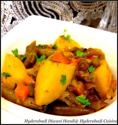Hyderabadi Cuisine: Hyderabadi Subzi Diwani Handi