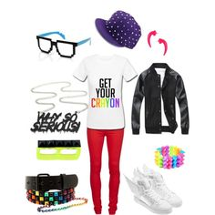 """GD CRAYON"" by chichi23 on Polyvore"